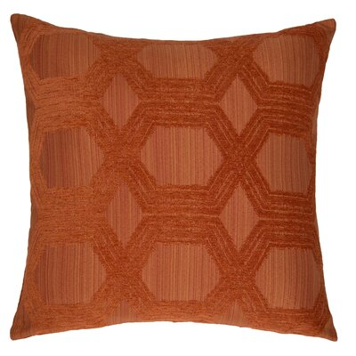 Protocal Throw Pillow Color: Persimmon