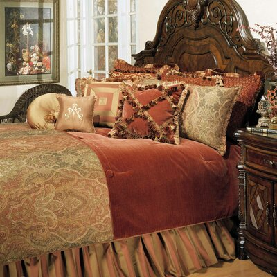 Woodside Park Reversible Comforter Set Size: Queen