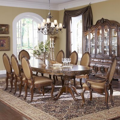 Lavelle Extendable Pedestal Dining Table