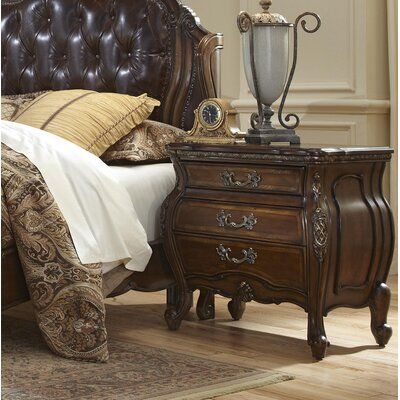 Lavelle 3 Drawer Nightstand