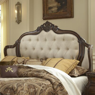 Lavelle Mansion Upholstered Wingback Headboard Size: Queen