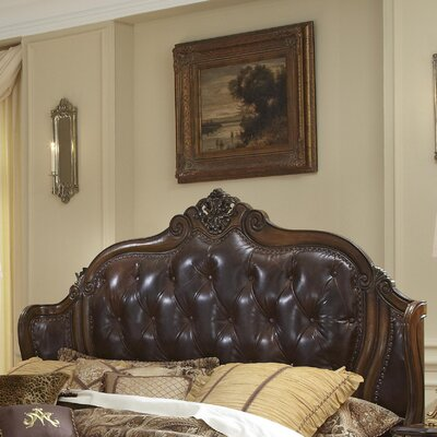 Lavelle Mansion Upholstered Wingback Headboard Size: Eastern King