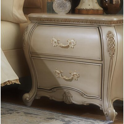 Lavelle 2 Drawer Nightstand