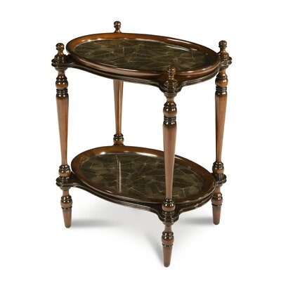 Discoveries Leaf Tray End Table