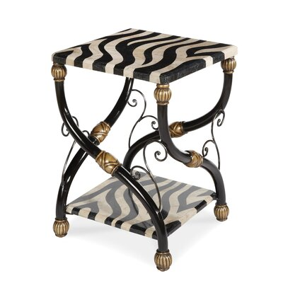 Discoveries Zebra End Table