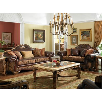 Michael Amini 34915-BRICK-26 / 34915-SPICE-26 Toscano Living Room Collection