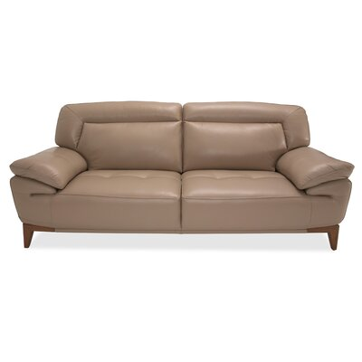 Mia Bella Leather Sofa