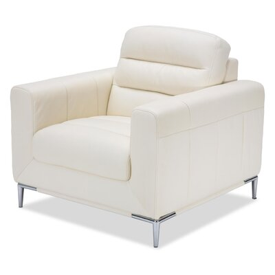 Mia Bella Elena Leather Armchair