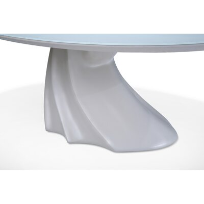 Trance Cosmo Oval Cocktail Table Base