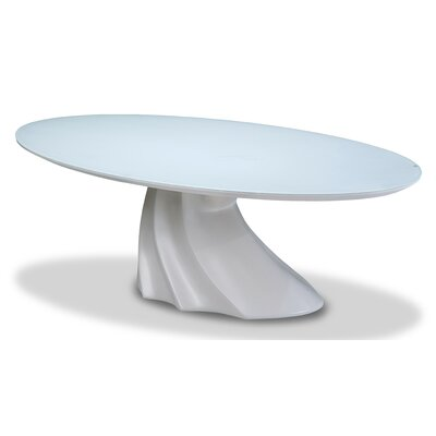 Trance Cosmo Oval Cocktail Table Top