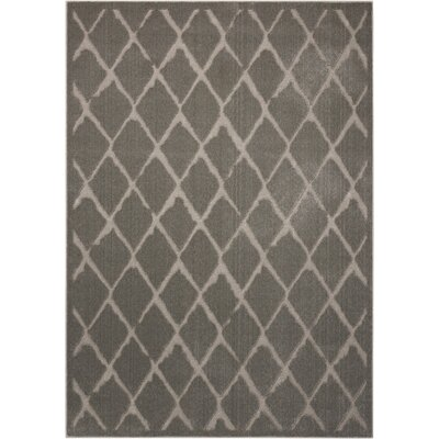 Gleam Gray Area Rug Rug Size: 710 x 106