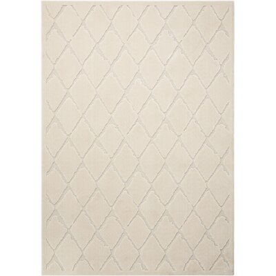 Gleam Ivory Area Rug Rug Size: Rectangle 710 x 106