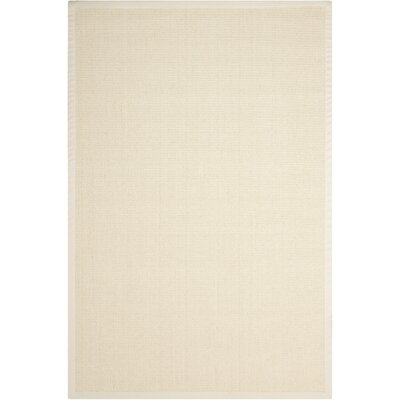 Brilliance Beige Area Rug Rug Size: Rectangle 5 x 76