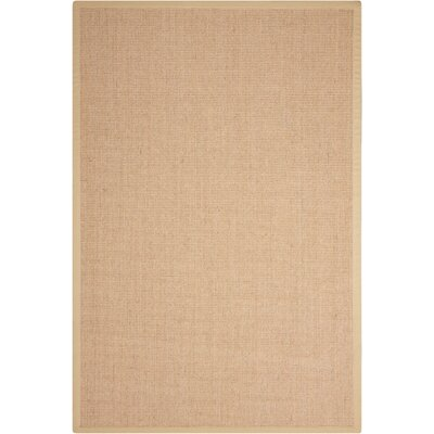 Brilliance Sand Area Rug Rug Size: Rectangle 5 x 76