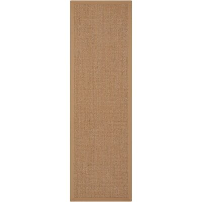 Brilliance Sand Area Rug Rug Size: Runner 23 x 76