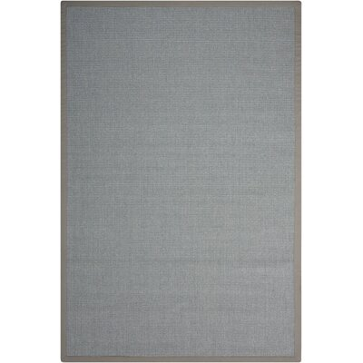Brilliance Gray Area Rug Rug Size: Rectangle 8 x 10