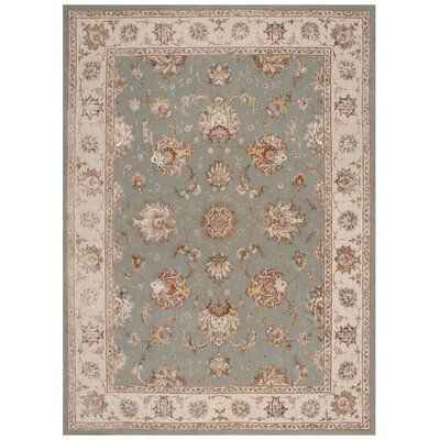 Serenade Seafoam Area Rug Rug Size: Rectangle 53 X 75