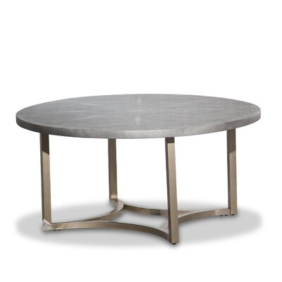 Alta Round Coffee Table Color: Gray