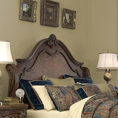 Bella Veneto Wingback Headboard Size: Queen