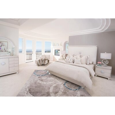 Glimmering Heights Platform 4 Piece Bedroom Set
