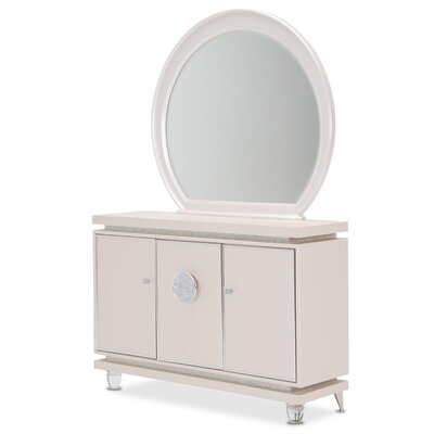 Glimmering Heights Round Dresser Mirror