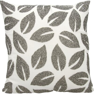 Anatole 100% Cotton Throw Pillow Color: Pewter