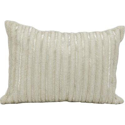 Michael Amini Throw Pillow Color: Silver