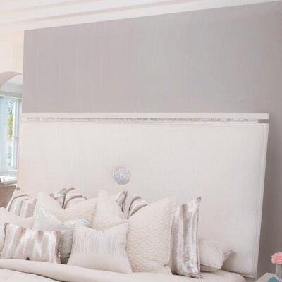 Glimmering Heights Upholstered Panel Headboard Size: King