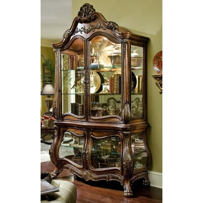 Chateau Beauvais Lighted China Cabinet