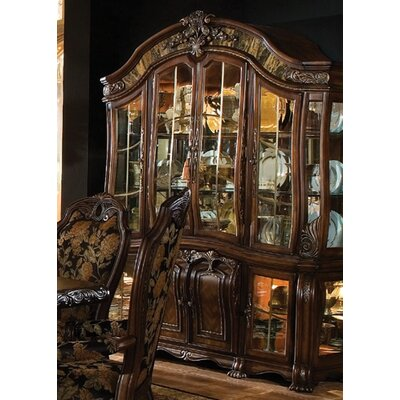 Oppulente Lighted China Cabinet