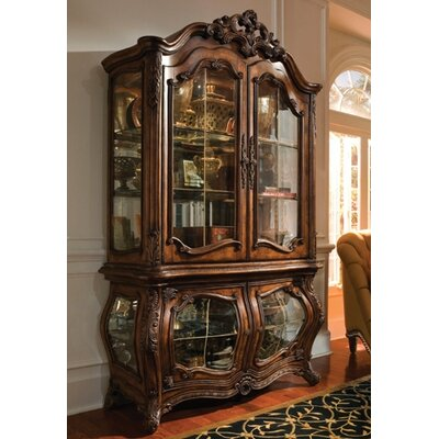 Palais Royale Lighted Curio Cabinet