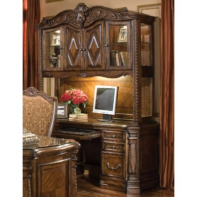 Aico Furniture Outlet on Aico Windsor Court Credenza With Hutch In Vintage