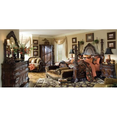 Essex Manor Four Poster Customizable Bedroom Set