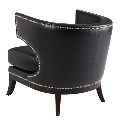 Napoli Chair Color: Black, Finish: No