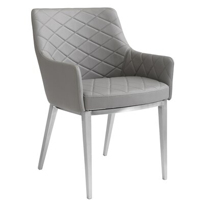 Ikon Chase Armchair Upholstery: Grey