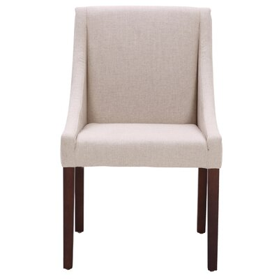 5West Lucille Arm Chair Upholstery: Fabric - Linen