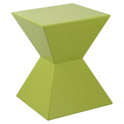 Rocco Urban Unity End Table Color: Green