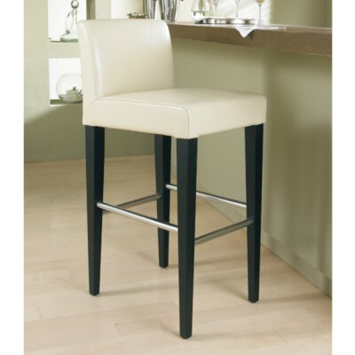 5West Oriana 26 Bar Stool Upholstery: Cream