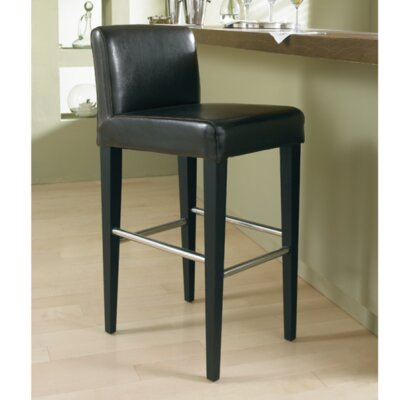 5West Oriana 26 inch Bar Stool with Cushion Upholstery: Brown
