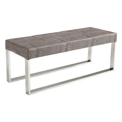 Sunpan Modern Ikon Mirage Crocodile Bench 20290