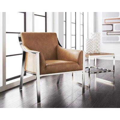 Club Hyde Armchair Upholstery: Peanut