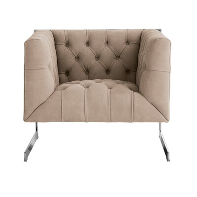 Club Viper Armchair Upholstery: Grey