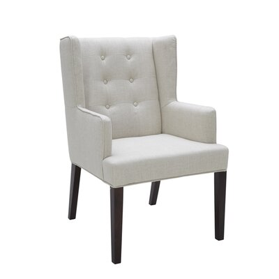 5West Clarkson Arm Chair Upholstery: Linen