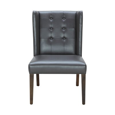 5West Clarkson Upholstered Dining Chair Color: Rhino Grey