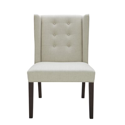 5West Clarkson Upholstered Dining Chair Color: Linen