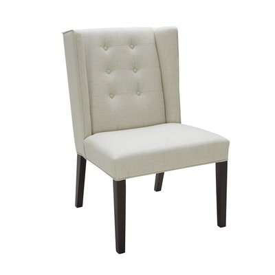 5West Clarkson Side Chair Upholstery: Linen Fabric