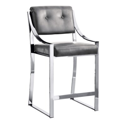 Club Savoy 25.5 Bar Stool with Cushion