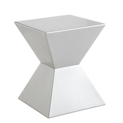 Urban Unity Rocco End Table Finish: Silver
