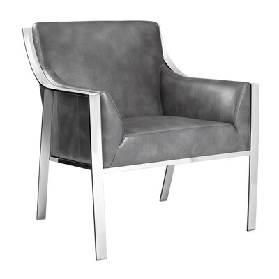 Club Hyde Armchair Upholstery: Grey