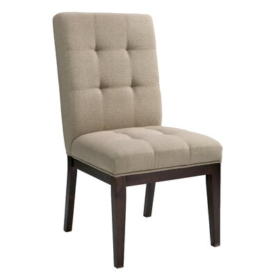 Diana Side Chair (Set of 2) Upholstery: Linen